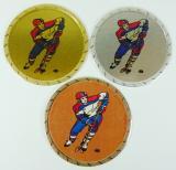 Lední hokej - kovová MAXI loga KLč.180