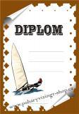 Jachting diplom A4 č.5