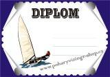 Jachting diplom A4 č.6