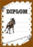 Koně diplom A4 č.8