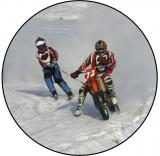Motoskijöring MINI logo L1č.183