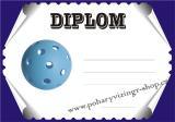 Florbal diplom A4 č.12