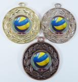Volejbal medaile D 28A-205