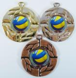 Volejbal medaile D 28C-205