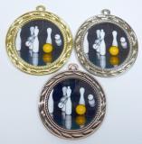 Kuželky medaile D9A-L215