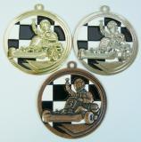 Motokáry medaile D39