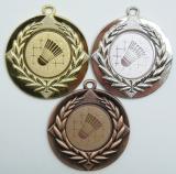 Badminton medaile D6A-34