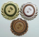 Badminton medaile D77A-34