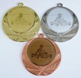 Motokáry medaile D114-119