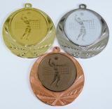 Volejbal medaile muž D114-19
