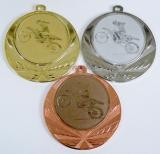 Motokros medaile D114-75