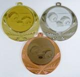 Pétanque medaile D114-129