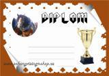 Koně diplom A4 č.9