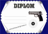 Střelci diplom A4 č.24