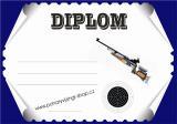 Střelci diplom A4 č.25