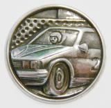 Auta MINI emblém A41č.37-stříbro