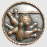 Bowling MINI emblém A41č.24-bronz