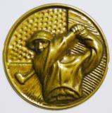Golf MAXI emblém A42č.36-zlato