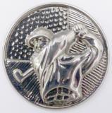 Golf MINI emblém A41č.36-stříbro