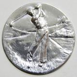 Golf MINI emblém A4č.37-stříbro