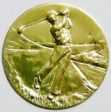 Golf MINI emblém A4č.37-zlato