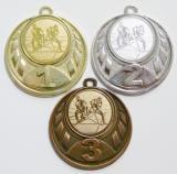 Florbal medaile D43-165