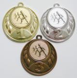 Běžky medaile D43-A46