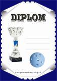 Florbal diplom A4 č.15