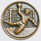 Házená MINI emblém A41č.35-bronz