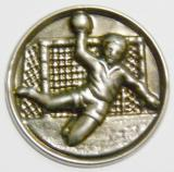 Házená MINI emblém A41č.35-stříbro