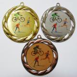Zimní triatlon medaile D93-L53
