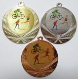 Zimní triatlon medaile D114-L53