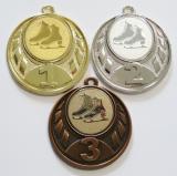 Krasobruslení medaile D43-160