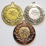 Cyklisti medaile D6A-A16