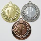 Šachy medaile D6A-A26