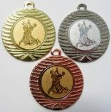 Taneční medaile DI4001-N30