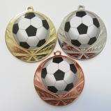 Fotbal medaile D114-L228