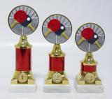 Ping-pong trofeje s pořadím 60-FG015