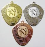 Karate medaile D107-A14