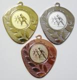 Běžky medaile D107-A46