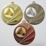 Badminton medaile D112H-A42