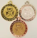 Triatlon medaile DI3206-74