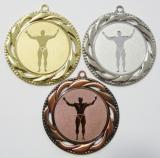 Kulturista medaile D93-81