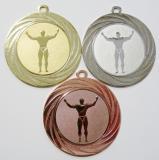 Kulturista medaile DI7001-81