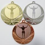 Kulturisti medaile D114-81