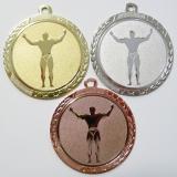 Kulturisti medaile D113-81