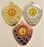 Sluníčko medaile D107-L12