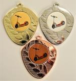 Koloběžka medaile D107-L216