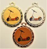 Koloběžka medaile DI3206-L216