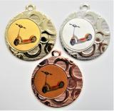Koloběžka medaile DI4002-L216